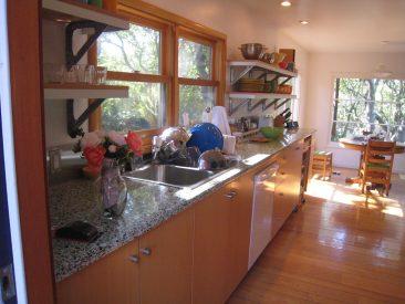 Hillside remodel new kitchen