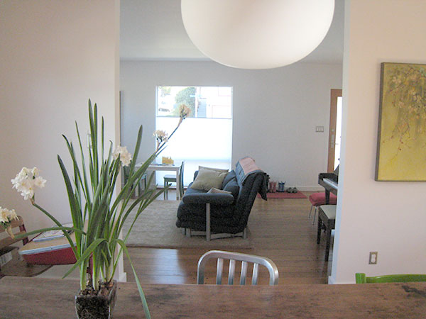 El Cerrito bungalow remodel open plan