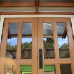 New Alameda studio French doors