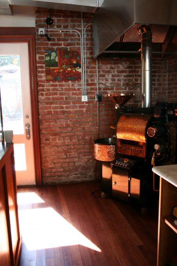 Cafe remodel roaster