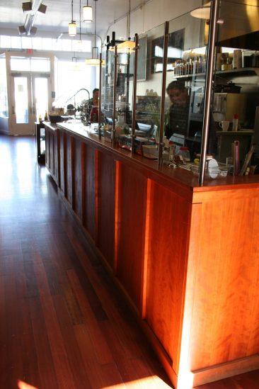 Cafe remodel kitchen