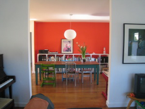 Bungalow remodel dining area