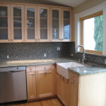 Victorian remodel kitchen counters