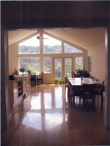 Oakland Hills remodel with view