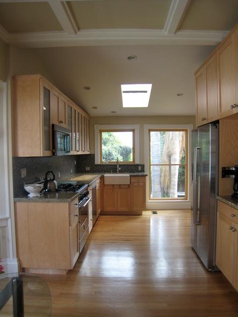 Victorian remodel kitchen