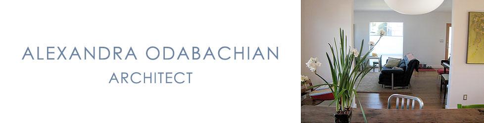 alexandraodabachianarchitect.com