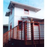 Alameda cottage addition tower
