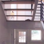Oakland Hills remodel open stairway