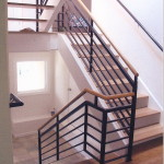 Light filled stair in Oakland Hills remodel